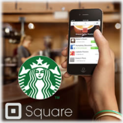 Starbucks Partners with Mobile Payment Leader Square