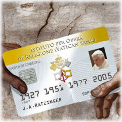 Does the Pope Have a Credit Card?